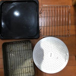 オーブンの天板 浅漬け容器 水筒