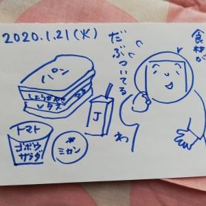 生姜焼きサンド弁当