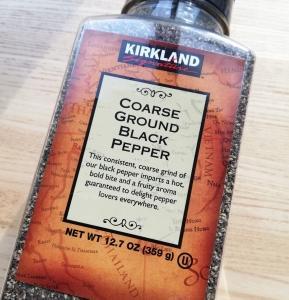 COSTCOで買っちゃう品(38) 粗挽きブラックペッパー