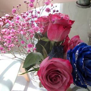 卒業記念花をプリザーブドフラワーへ