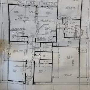 マイホーム作り - 設計図1階編
