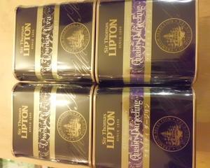 ユニリーバ・ジャパン★サー・トーマス・リプトン リプトン125周年ギフト限定茶葉 2種4個セットをお試ししてみました♪★モラタメ
