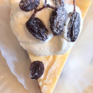 カリフォルニアレーズンチーズケーキ