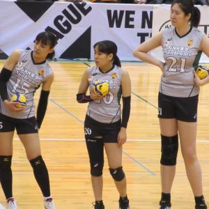 2019-20V2リーグ天童大会 対GSS東京 3-1 サーブと粘りで逆転勝利!