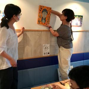 『色と形のモザイクタイル展』〜生徒さんたちの作品展〜