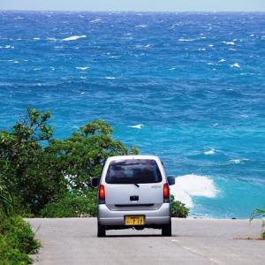 Go straight to the Nagasaki beach(来間島長崎浜)