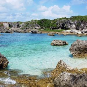 下地島の激変ビーチ 中の島(カヤッファ)