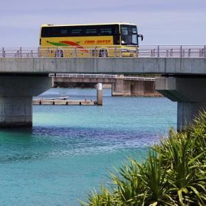 下地島空港から路線バスで宮古島へ