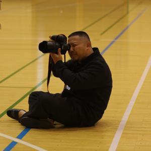 プロのカメラマンとの楽しかったひととき。