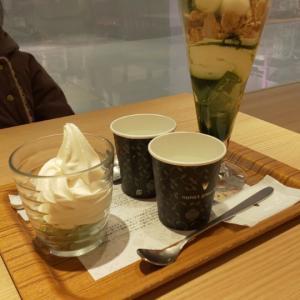 むすめと女子会♡nana's green tea