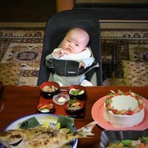 祝!お食い初めと祝!1歳!