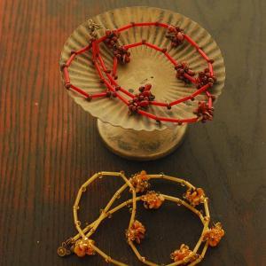 木の実のネックレスと貴和製作所一日講習会