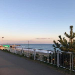 日曜ハーフ走、東からの風4m/s、