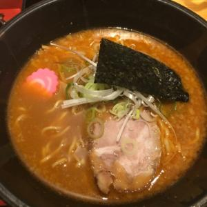 小樽ラーメン 無化調 麻ほろ ( ´θ`) 赤味噌ラーメン