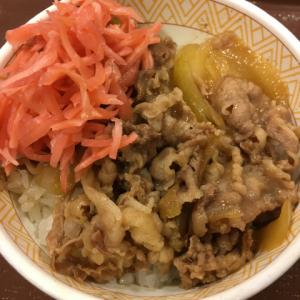 薄野で ( ´θ`) 牛丼 Power Charge