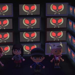 【あつ森:106】「【あつ森】土曜の午前3時33分に見られる映像をテレビだらけの部屋で見てみた」