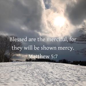 マタイの福音書 5章7節 あわれみ深い者は幸い