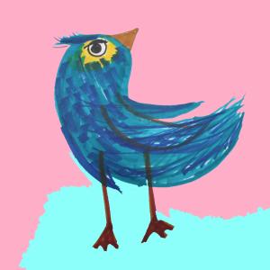 鳥の漢字、じーっと見ていると、本当の鳥に見えてきた、、、。