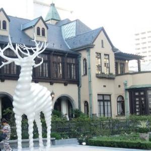 お久しぶり。赤坂のクラシックハウス・小紋にススキ帯