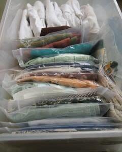 お譲りした帯の写真を送ってくれました&帯揚げ箪笥の整理