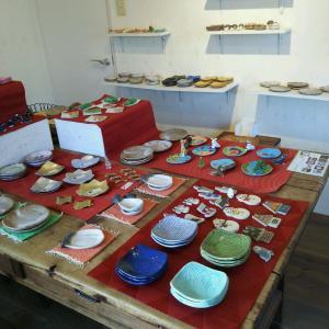 「temame の豆皿と箸置き展」