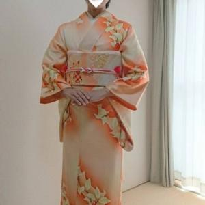 令和元年10月5日出張着付は堺市西区、結婚式に行かれる訪問着の着付&ヘアセット