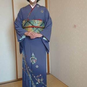 令和元年10月11日出張着付は富田林市、付け下げの着付け依頼でした。