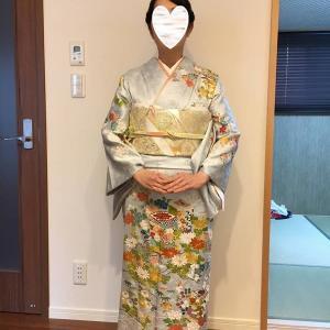 令和元年10月19日出張着付2.3件目は堺市東区&和泉市、お宮参りの着付&ヘアメイクと喪服の着付け&ヘアメイク