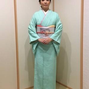 令和元年10月27日出張着付1件目は堺市中区、七五三の訪問着の着付依頼でした。