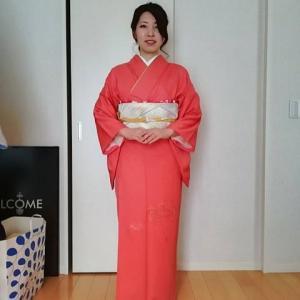 令和元年10月27日出張着付2件目は堺市美原区、色無地の着付&ヘアセットのご依頼でした。