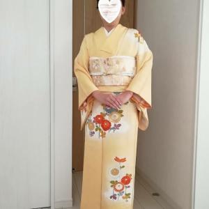 令和元年11月4日出張着付け1件目は堺市美原区、七五三の訪問着の着付&ヘアセットのご依頼でした。