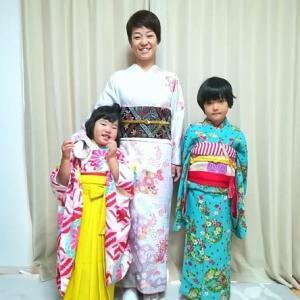 令和元年11月4日出張着付け2・3件目は堺市東区七五三のお母様と6歳4歳の姉妹&中区七五三の7才5歳の姉弟