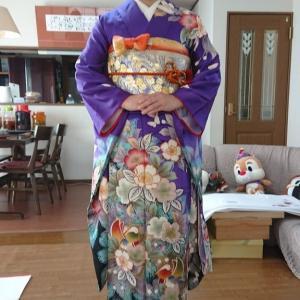 令和2年成人式のリハーサル12人目は、大阪狭山市のM様