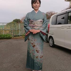 令和元年12月22日 成人式の無料リハーサル15人目のお嬢さま&お母様の訪問着の着付&ヘアセット