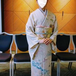 令和元年12月28日の出張着付は堺市東区の訪問着の着付依頼でした