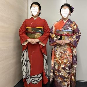 令和2年出張着付1・2件目は関西空港、着付&ヘアセットのご依頼でした