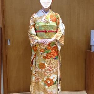 2020.1.5出張着付は堺市西区、初詣に行かれる振袖の着付&ヘアセットのご依頼でした。