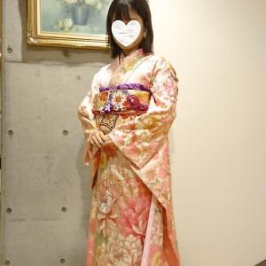 令和2年1月13日 成人式イベントの振袖着付  中川さんと山本さんの担当分です