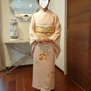 令和2年1月26日出張着付は大阪市阿倍野区、新宴会に行かれる訪問着の着付&ヘアセットのご依頼でした。