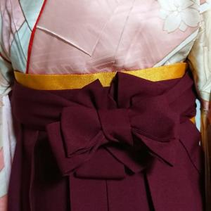 昨夜の自宅教室は自装と女袴の紐の掛け方とアレンジ
