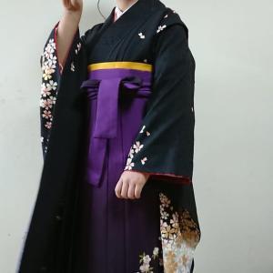 令和2年3月17日出張着付け4件目は富田林市、小学生の女袴k付け&ヘアセットのご依頼でした。