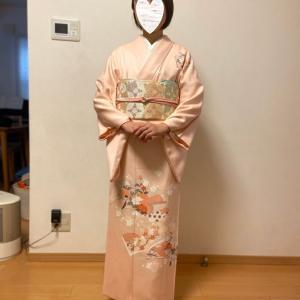 令和2年3月17日出張着付け5件目は堺市東区、訪問着の着付け依頼でした。