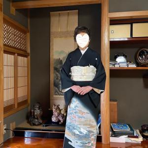 令和2年3月21日出張着付1件目は堺市北区、留袖と振袖の着付依頼でした。