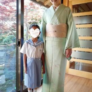 令和2年6月21日出張着付け1件目は堺市北区、単衣の訪問着の着付&ヘアセットのご依頼でした。