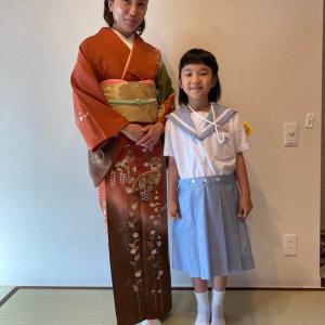令和2年6月21日出張着付2件目は堺市北区、単衣の訪問着の着付&ヘアセットのご依頼でした。