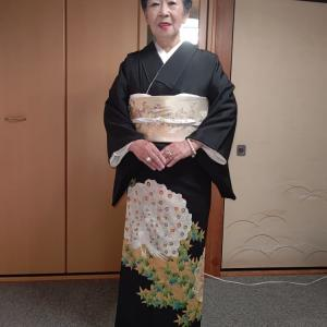 9/20出張着付2件目は堺市堺区、本仕立ての2枚重の留袖着付けでした。