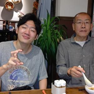 主人が大好きだった中華・居酒屋 蒼河に弟の家族と外食