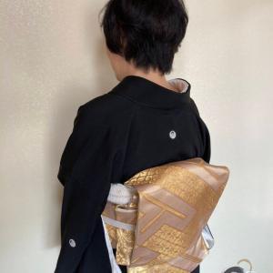 令和2年10月14日出張着付は大阪狭山市、留袖の着付依頼でした。