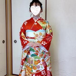 令和4年成人式の無料リハーサル2回目は富田林市のI様です。