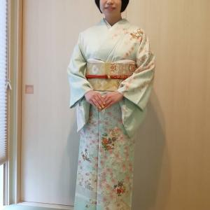 令和3年5月23日出張着付は大阪狭山市、訪問着の着付依頼でした。